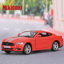 1:36 Alloy Diecast Simulation Cars Model Kids Toys Vehicle for Ford Mustang GT Sports Car Gift for Children in box(China)