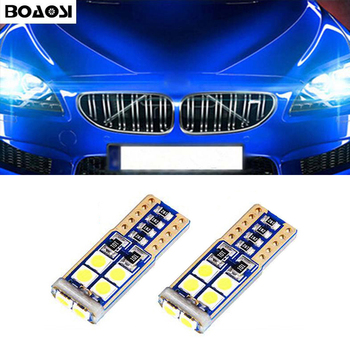 BOAOSI 2x T10 LED Parking Lights Sidelight No Error For BMW E46 E39 E91 E92 E93 E28 E61 F11 E63 E64 E84 E83 F25 E70 E53 E71 E60 image