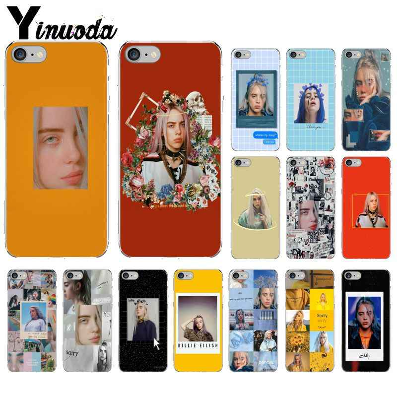 Yinuoda Billie Eilish Khalid Transparent Soft Silicone Phone Case Cover for iPhone 8 7 6 6S Plus 5 5S SE XR X XS MAX Coque Shell