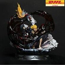 17,32 «Статуя отбеливать бюст Куросаки Ичиго руководитель портрет резиновая фигурка героя Коллекционная модель игрушки 44 см коробка D955