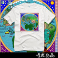 THE SONG OF ICE AND FIRE short-sleeve t-shirts the world map of Westeros fashion summer T-shirts cool streetwears