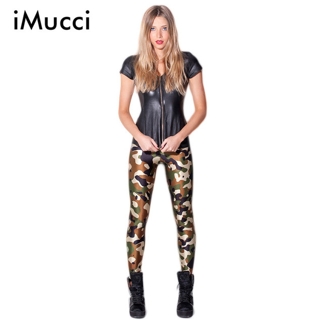New Women Galaxy Leggings Printed Army Camouflage Leggings Fitness Legging 2016 Fashion Women Sexy Casual Pants Brand Clothes