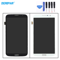 100 Test Black White For Samsung Galaxy Mega 6 3 I9200 I9205 LCD Display Touch Screen