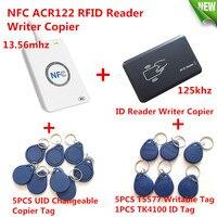 NFC ACR122U 13 56MHZ RFID CARD And 125KHZ ID Card Reader Writer Programmer Crack Clone M1