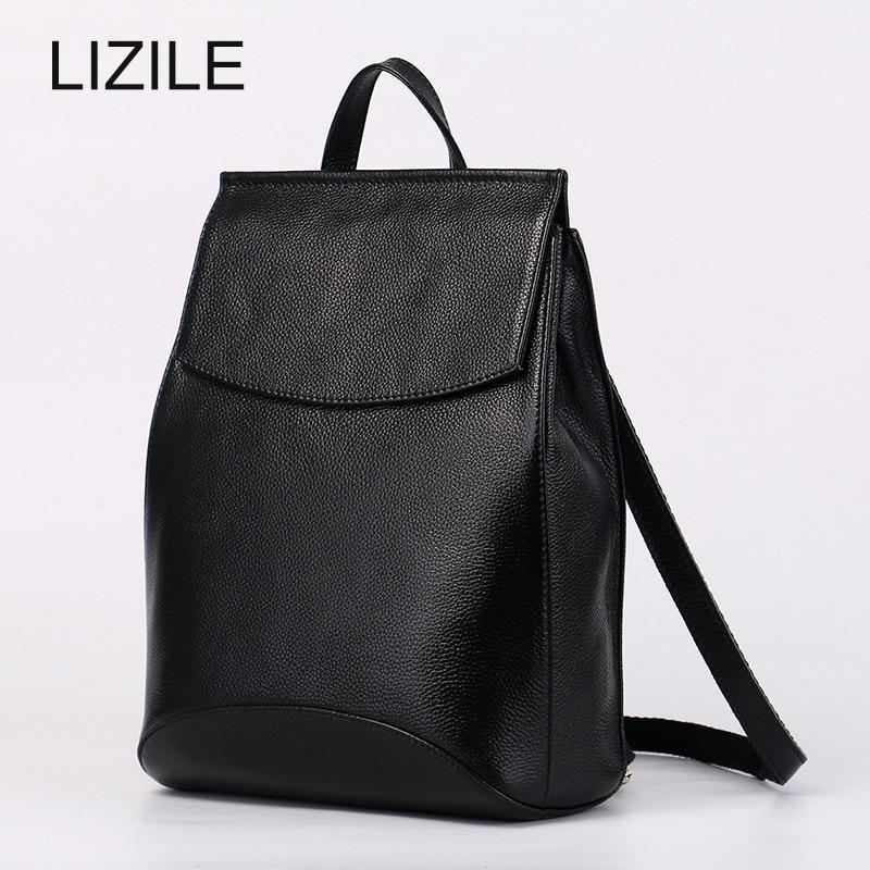Fashion women shoulder bag female multifunctional high quality cow split leather backpack for teenage girls 2017