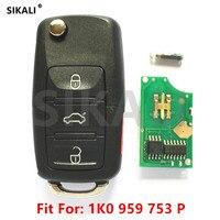 Zdalnego Klucz do samochodu VW/VolksWagen 1K0959753P 1K0959753H dla CC/EOS/Golf/GTI/Jetta/Passat/R32/Królik 1K0 959 753 P H 2006-2011