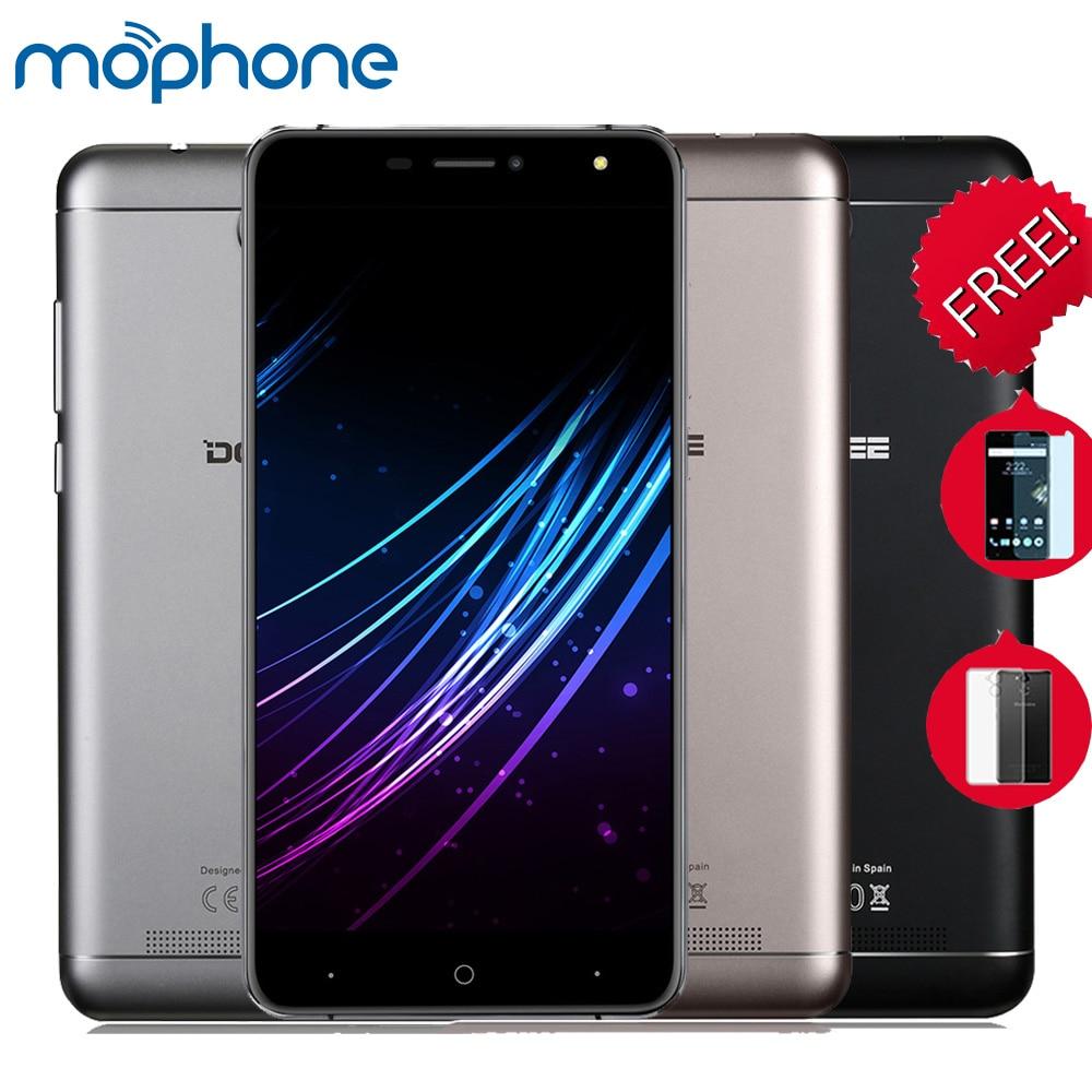 Цена за Оригинал doogee x7 pro смартфон 4 г mtk6737 6.0 дюйм(ов) ips 1280*720 Пикселей Android 6.0 Двойной Камеры Умный Жест OTG