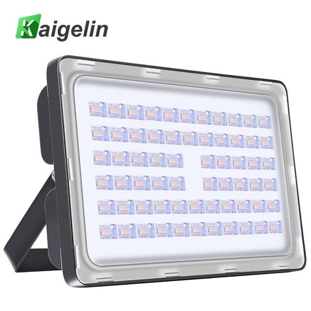 2 Pieces 200W LED Flood Light 220-240V 24000LM IP65 Waterproof LED Floodlight SMD2835 LED Spotlight For Outdoor Garden Lighting