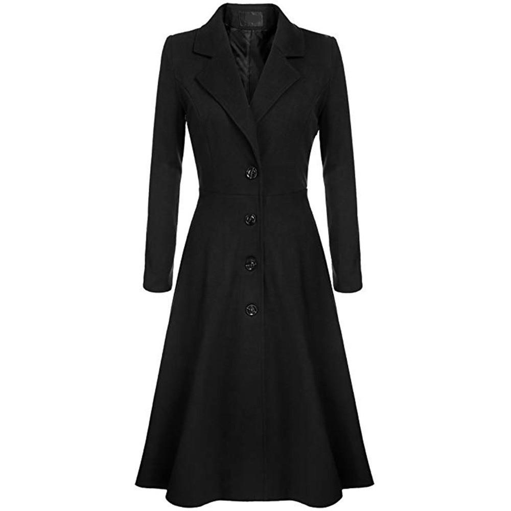Women's Clothing Shop For Cheap 2018 Autumn Fashion New Windbreaker Coat Ol Women Trench Overcoat Ultra Long Big Swing Outwear Slim Elegant Coat L1227 With Belt