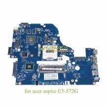 Laptop motherboard For acer aspire E5-572G NVIDIA Mainboard Z5WAW LA-B702P NBMQ011001 NB.MQ011.001