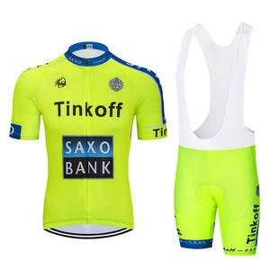 f983f6f60 MTB Cycling Clothes Ropa Ciclismo Racing Bike Sports Set 2018 Saxo Bank  Tinkoff