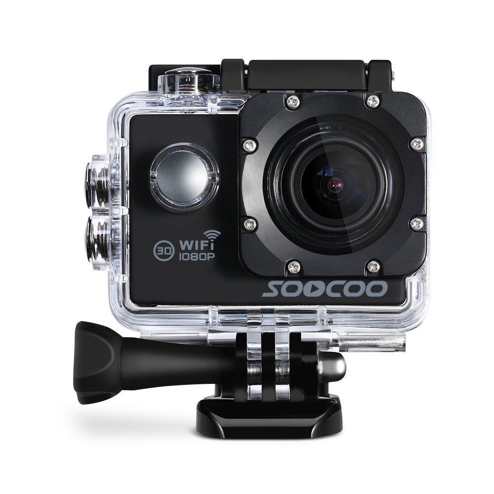 Prix pour Soocoo c10s action sports étanche caméra avec wifi plein-hd 1080 p 12mp 2.0 lcd 170 degrés objectif grand action cam