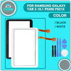 new P5200 Touch screen For Samsung Galaxy Tab 3 10.1 P5210 P5220 Touch Screen Digitizer Panel Sensor Glass with tool