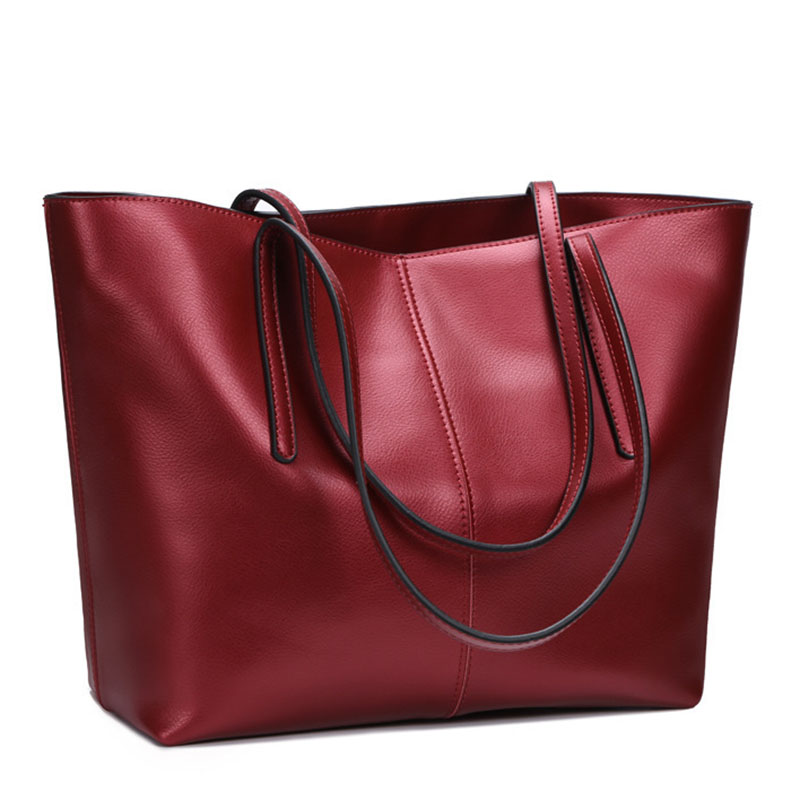 Luxury Designer Genuine Leather Women bag Brand Fashion Cow Leather Handbag Shoulder bags Large Capacity Solid Casual Tote 2018 2018 new brand fashion genuine leather women handbag luxury design solid cow leather women shoulder bag casual ladies tote bag