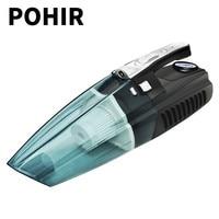 120W 12V Car Vacuum Cleaner Vacuuming Inflated Dehumidify illumination Measure Pressure Multi function 5 in 1 Vacuum Cleaner