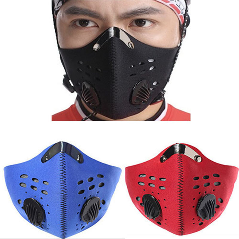 Activated carbon masks anti-dust pm2.5 warm wind mask outdoor half face mask for training bike cycling motorcycle 3 Colors mal airtac type mini cylinder mal25 275 stroke air cylinder mal25 275