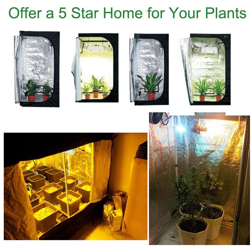 BEYLSION Indoor Grow Tent 100x100x200cm 80x80x160cm 60x60x140cm Hydroponic Plant Growing Non Toxic Room Box LED Grow Room Glass (2)