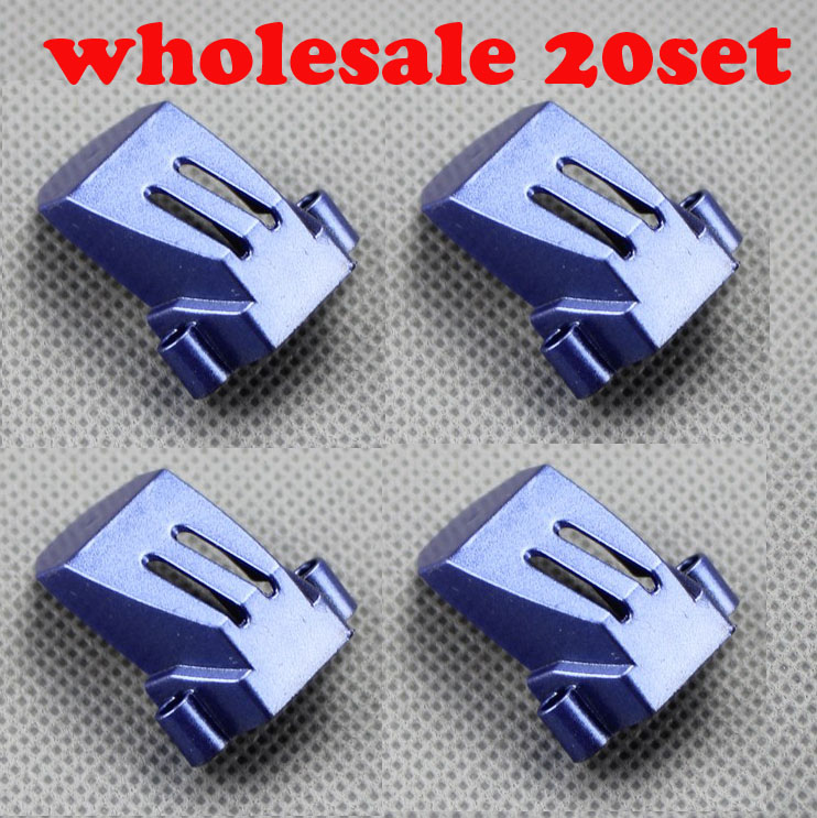 JJRC H16 YiZhan Tarantula X6 RC Quadcopter Spare Parts X6 blue color Motor Cover kit wholesale 20set jjrc h16 motor gear