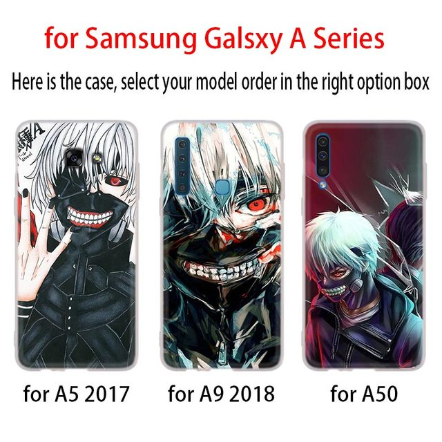 Tokyo Ghoul Phone Case For Samsung Galaxy A50 A10 A20 A30 A40 A60 A70 A6 A8 Plus A7 A9 2018 A3 A5 2017 A90