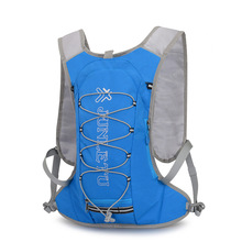 Running Backpack Outdoor Sports Hiking Marathon Fitness Hydration Vest Pack 1.5L Bag 500ml bottle