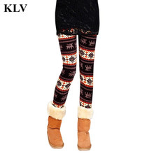 Autumn Spring Leggings Printed Women Legging Colorful Legins Mid Waist Elastic Leggins Silm Women Pants Trousers Oc11