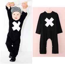 Newborn Baby Boy Infant Warm Cotton Outfit Jumpsuit Romper Boys Clothes Baby Rompers