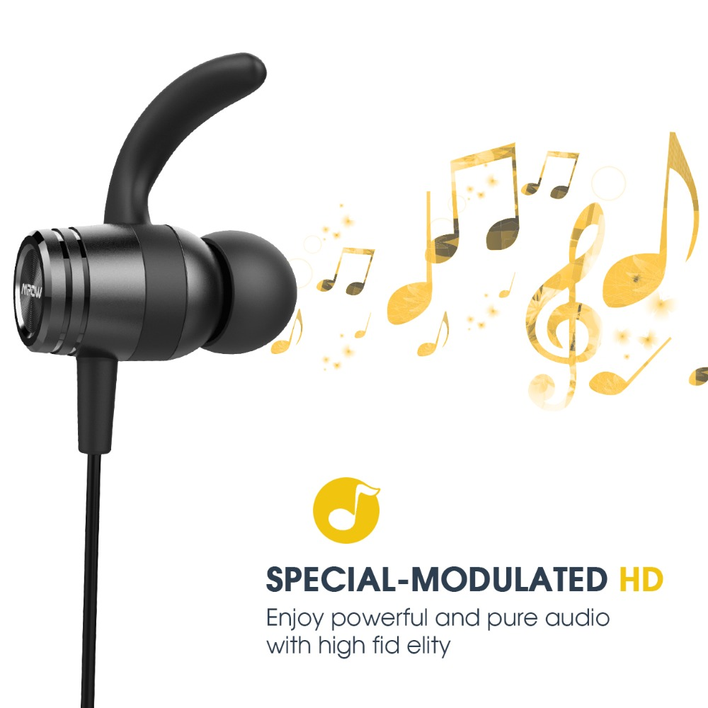 Mpow S10 IPX7 Waterproof In-Ear Earphone Sports