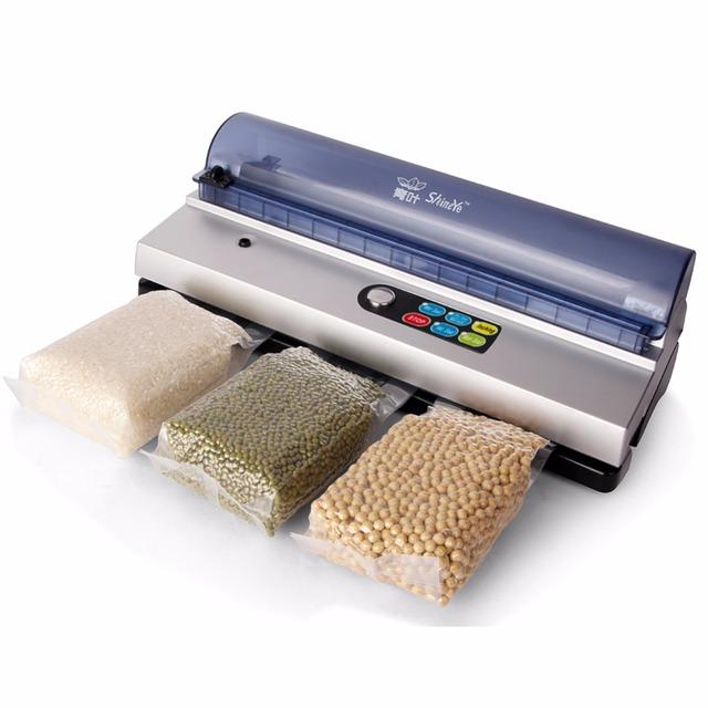 (Ship from RU) RU/UA Shipping 110V/220V Household Food Vacuum Sealer Packaging Machine Film Sealer Vacuum Packer Including 10Pcs
