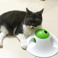 Pet Dog Puzzle Toys Food Snack Ball Puzzler Dispenser Cats Leak Food Toy YU Home