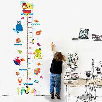 Vinilo de elefante de pesca de gatito, decoración del hogar, Adhesivo de pared, calcomanías de arte DIY, papel tapiz 3D, decoración para niños, pegatinas de pared de habitaciones