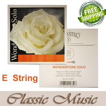 Made in Germany,Pirastro wondertone solo violin stirng,E string(310321), Ball end,Just E Sting, Free shipping!
