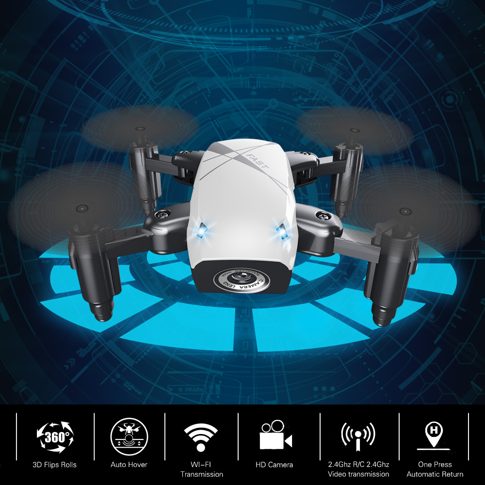 S9W Mini Drone with Camera S9 No Camera RC Airplanes Foldable Drones Altitude Hold Drone WiFi FPV Pocket Toy 20