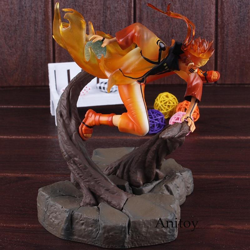 Anime Naruto Shippuden Figure Naruto Figurine Uzumaki Naruto Action Figure Seventh Hokage Chakra Ver. Toy Doll Statues 22.5cm