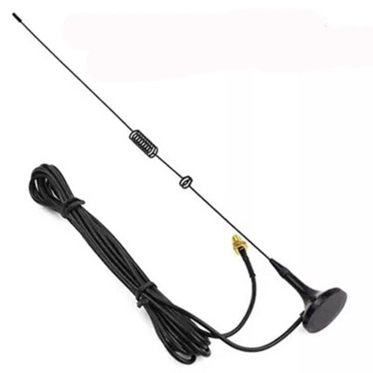 imágenes para Hf antena nagoya ut-106uv montado en un vehículo del coche antena para baofeng 888 s uv-5r radio de dos vías walkie talkie accesorios ut-106