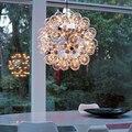 Bolas de Vidro Criativo moderno Pingente Luz do Quarto Minimalista Sala de estar Lâmpada G4 Lustres Salas de Jantar LEVOU Luzes de Suspensão