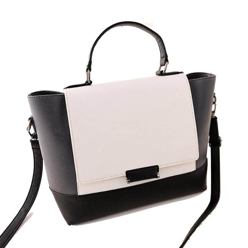 Crossbody Bag Women Famous Brands Designers Ladies Messenger Bag Leather  Tote Shoulder Bags for Women Lady Panelled Handbag T15-in Shoulder Bags  from ... 16584626a20c0
