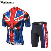 İNGILTERE Ekibi Gömlek Bisiklet Jersey WEIMOSTAR Erkekler bisiklet giyim Bisiklet maillot ciclismo MTB Jersey roupas ciclismo set