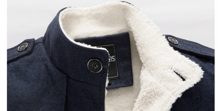 Image 5 - BOLUBAO Brand Men Wool Blend Coats 2019 Winter Fashion Men's Solid Color High Quality Coat Clothing Male Thick Warm Overcoat-in Wool & Blends from Men's Clothing
