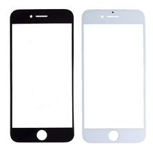 10pcs/lot LCD Screen Glass For iPhone 7 Front Outer Glass Lens for iPhone 7 Plus Replacement Front Glass Lens Outer Black White