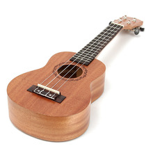 Wholesale 6PCS/Lot 21inch Hawaiian Guitar Ukulele Uke 15 Frets Soprano MINI For School Student & Band