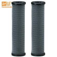 Картридж фильтра для воды C1 с пропиткой из активированного угля Coronwater 5 микрон