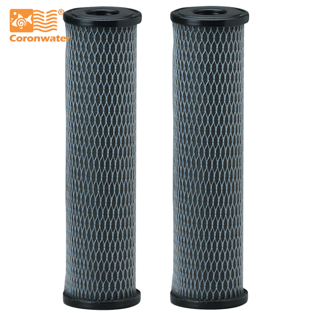 Coronwater Activated Carbon Impregnated Cellulose 5 Micron Water Filter Cartridge C1