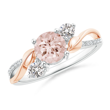Rings rose gold diamond ring Leaf zircon ringen treasure Crystal jewelry angelB2401