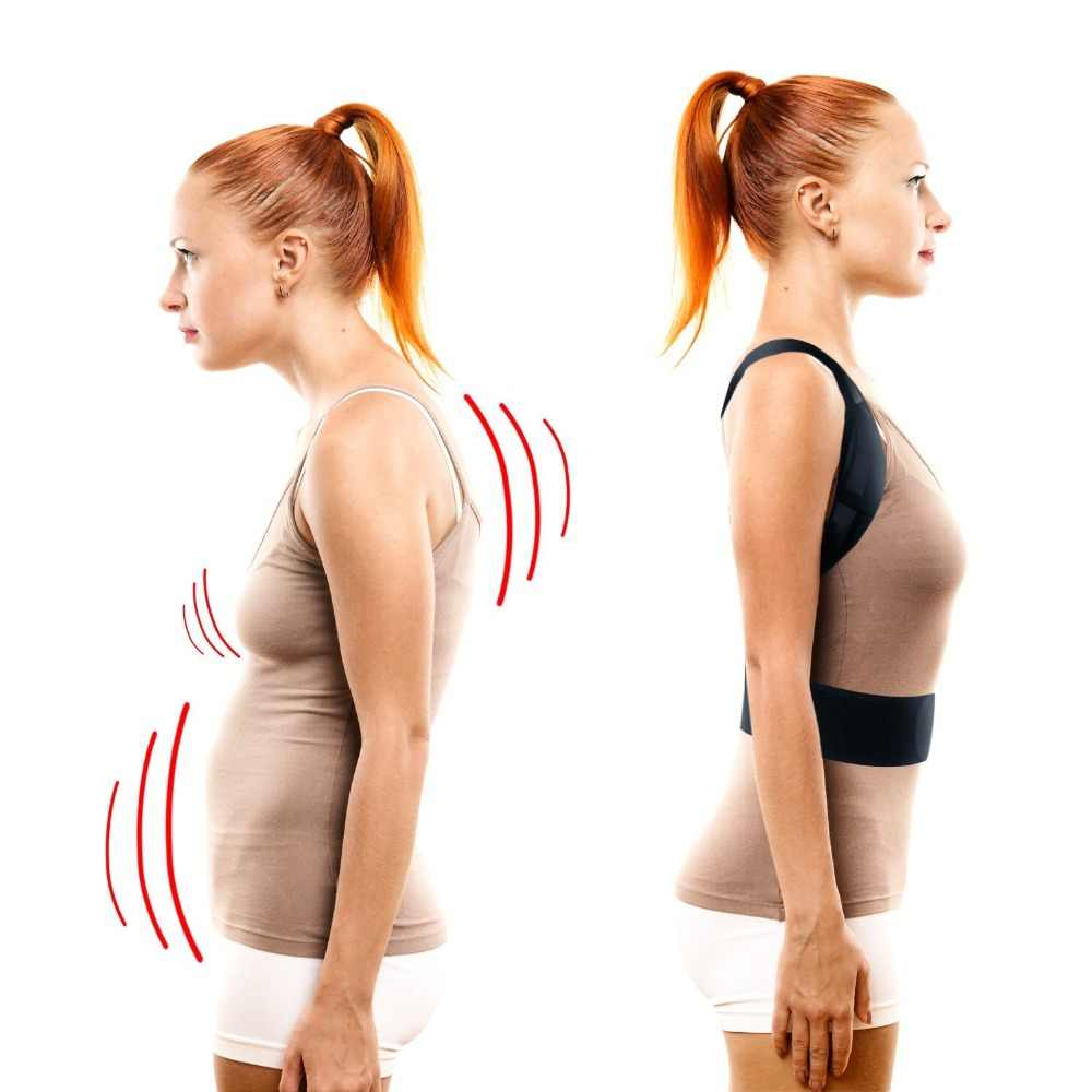 Регулируемый корректор X-shape корсет для спины корсет выпрямитель верхней части плеча корсет для поддержки осанки коррекция осанки для мужчин и женщин