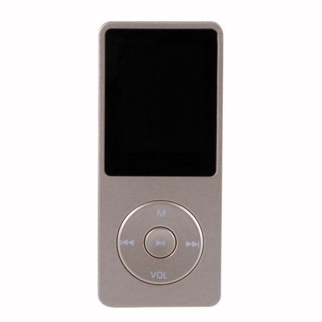 Ultrafino 8 GB Reproductor de MP3 con 1.8 Pulgadas de Pantalla TFT FM Radio E-libro de Lectura