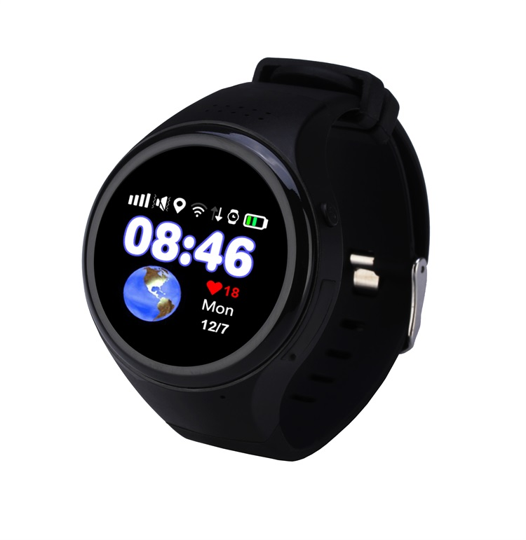 new arrival Alarm wifi GPS Tracker Watch For Kids SOS GSM Mobile Phone App Smart Bracelet