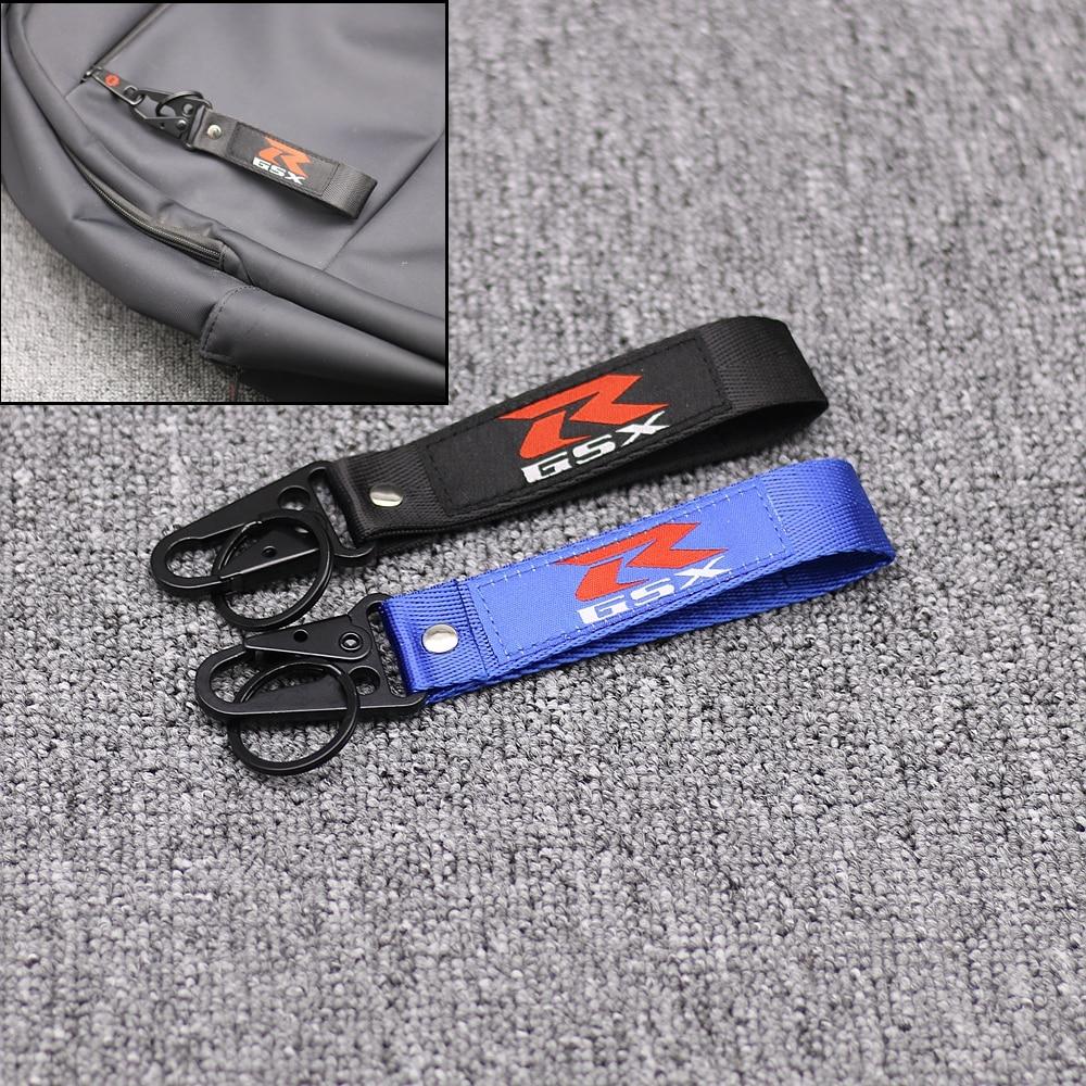 New Embroidery Key Holder Chain GSX-R LOGO Collection Keychain for Suzuki GSXR GSXS GSX 750 600 1000 Motorcycle Key Ring KeyringNew Embroidery Key Holder Chain GSX-R LOGO Collection Keychain for Suzuki GSXR GSXS GSX 750 600 1000 Motorcycle Key Ring Keyring