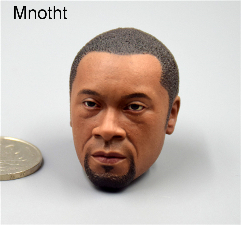 Mnotht 1:6 Scale Black Man Solider Head Sculpt Model SS 075 TACP For 12in Action Figure L31 brand new 1 6 scale head sculpt iron man 2 ivan vanko mickey rourke head sculpt accessorise for 12 action figure model toy