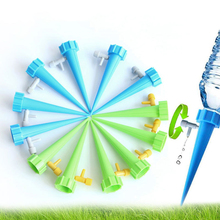 4Pcs Lot Indoor Automatic Watering Fountain Irrigation Kits System Houseplant Plant Potted Flower Energy Saving Environmental cheap Watering Kits F007 Plastic random 4Pcs automatic watering device plant potted flower waterers bottle irrigation 4 pcs lot indoor automatic garden cone water