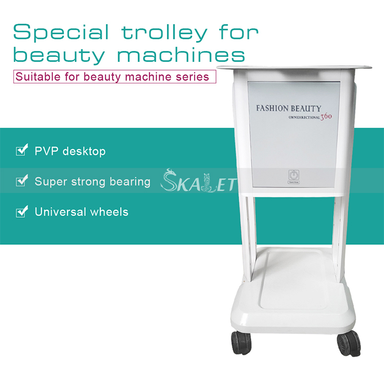 100kg Quality Tool Trolley Cart Salon Tool Box Hospital Trolley As Beauty Machine Carrier